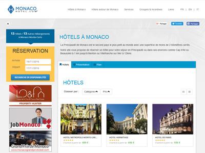 Gli alberghi di Montecarlo